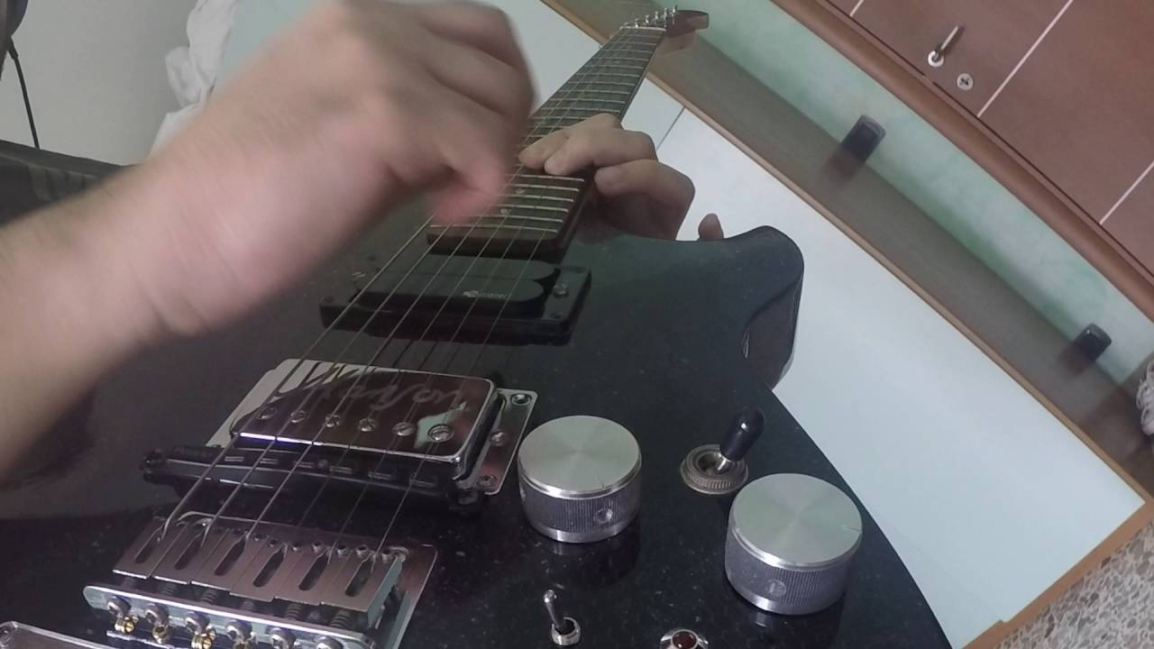 Citizen Erased  Muse Guitar Cover by Luca Nisi Guitar replica
