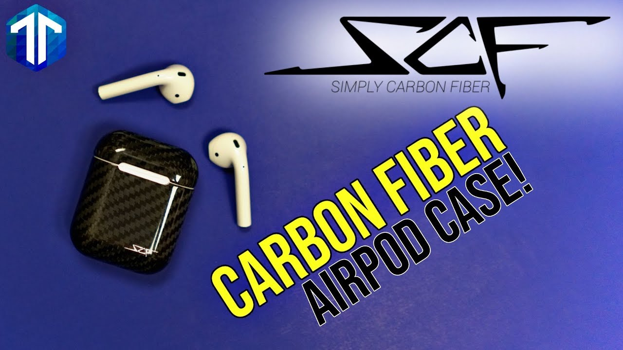 2356b913c82 Simply Carbon Fiber Apple AirPods Case Review! - YouTube