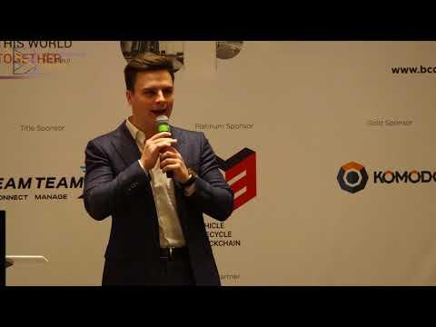 Justas Pikelis at B Conference Abu Dhabi 2017