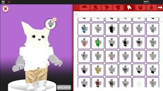 Making a Furry suit in roblox meep city