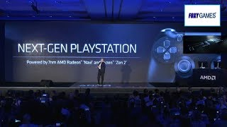 AMD Finally Reveal Powerful PS5 Navi GPU/Zen 2 CPU *Computex 19   Sony CEO