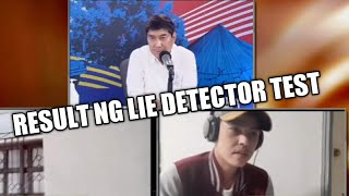 result lie detector lumabas na sa raffy tulfo in action behind the scene