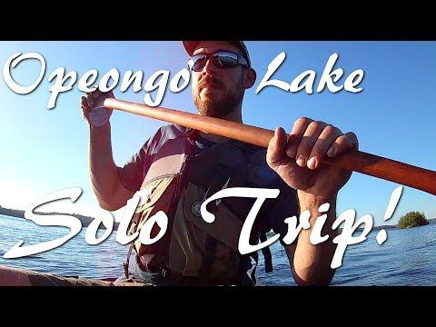 Solo Overnight | Paddling Opeongo Lake - Algonquin Park