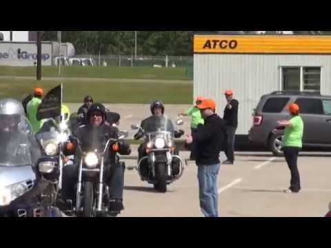 Motorcycle Ride for Dad - Calgary - 2014 - Post Ride