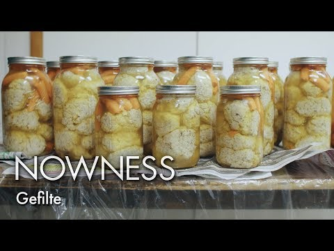 The Beauty of Gefilte Fish