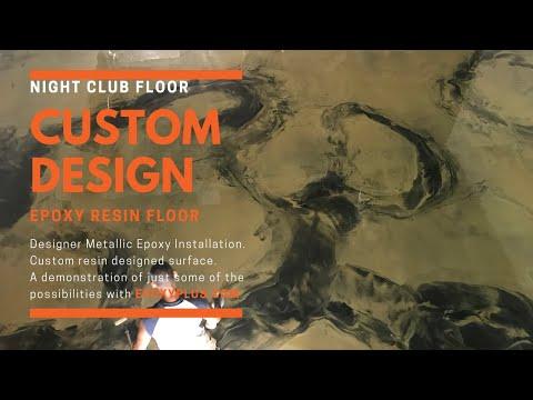 CUSTOM RESIN FLOOR-METALLIC EPOXY