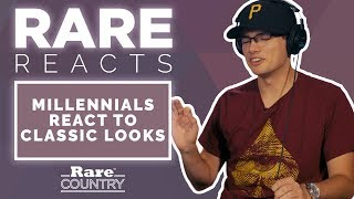 Millennials React To Classic Country Looks | Rare Reacts