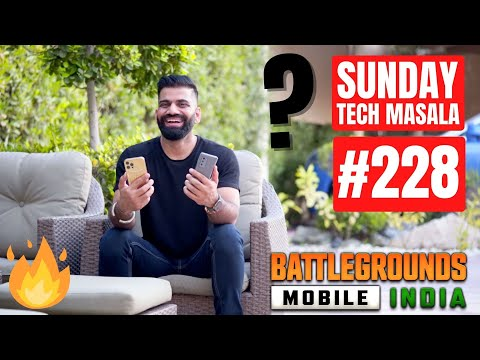 #228 Sunday Tech Masala – Battlegrounds Mobile India Lite, Apple M2 Chip, Vlogs…#BoloGuruji🔥🔥🔥