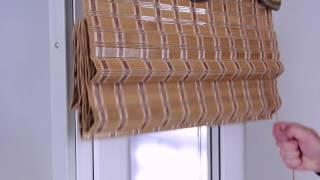 видео Бамбуковые шторы
