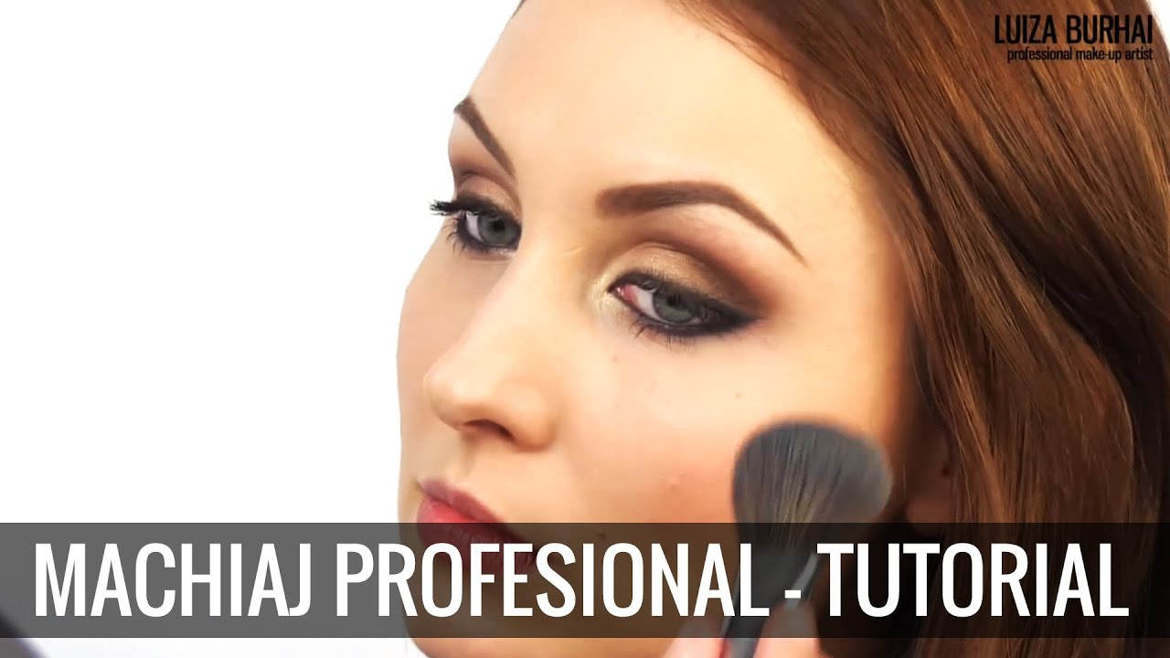 Machiaj De Seara Profesional Si Simplu Tutorial Step By Step Youtube
