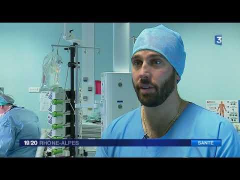 Lyon : la chirurgie du genou assistée d'un robot profite aux patients (19/20 France 3)