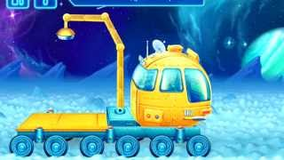 Build & Play Kids Space 3D construction Machines Puzzles ipad App demo LOADER (Big Trucks & Vehicles