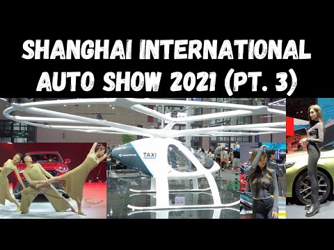 Shanghai International Auto Show 2021 Walkabout (Pt. 3)