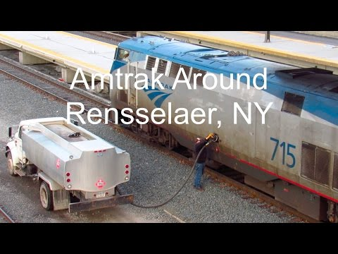 Amtrak Around Rensselaer, NY