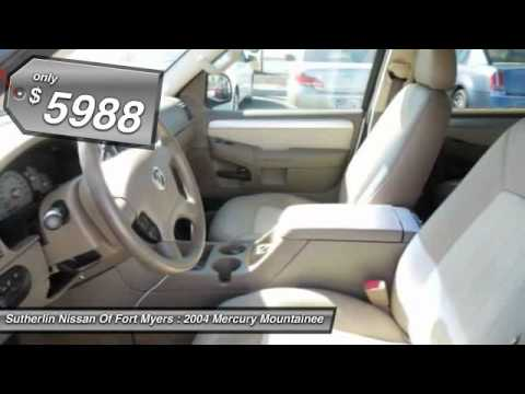 2004 mercury mountaineer 4 0l v6 convenience fort myers fl 33912 youtube. Black Bedroom Furniture Sets. Home Design Ideas