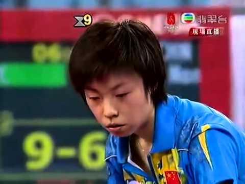 Zhang Yining 張怡寧 wang nan 王楠 Beijing Olympic Game 2008 Final tabke tennis