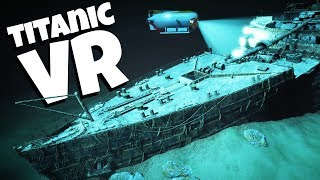 Exploring the TITANIC in Virtual Reality - Titanic VR Gameplay - HTC Vive VR
