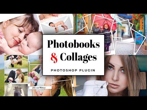 Photobooks and Collages Photoshop Plugin