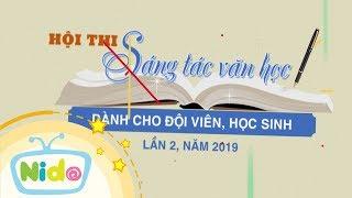 [Trailer] Hội Thi Sáng Tác Văn Học Dành Cho Đội Viên, Học Sinh - Lần 2 Năm 2019 | Báo Khăn Quàng Đỏ