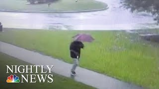 Man Speaks Out After Close Call With Lightning Strike | NBC Nightly News