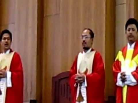 Kami Memuji PS. 361. Misa Tahun Baru Imlek 2563 di grj St. Yoseph Palembang,