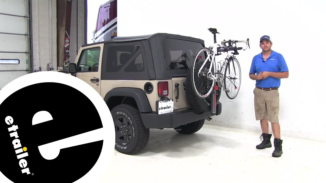 Yakima Spare Tire Bike Racks Review - 2016 Jeep wrangler - etrailer com