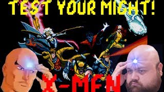 Test Your Might!: X-men