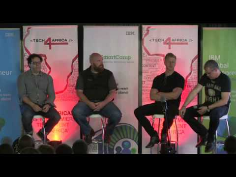 The future of Mobile : Aki Anastasiou, Gareth Cliff, Erik Hersman, Toby Shapshak