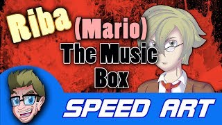 SPEED ART: Riba from (Mario) The Music Box