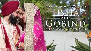 Iisha Sethi & Gobind Anand - Cinematic Wedding Day  Highlights (Punjabi Sikh)
