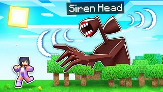 The FINAL NIGHT With SIREN HEAD In Minecraft!