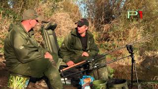 RIVER SEVERN BARBEL FISHING - NASH PEG ONE