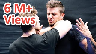 KRAV MAGA TRAINING • Cornered! What would you do now?