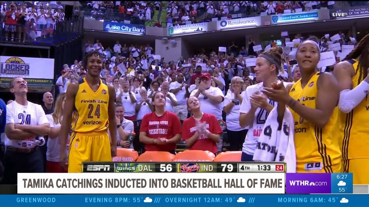 Former Lady Vol Tamika Catchings officially inducted into Basketball ...