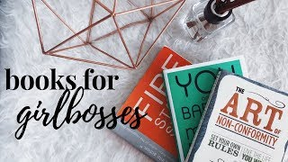 MUST READ Books for Girlbosses | You Are a Badass at Making Money + More!