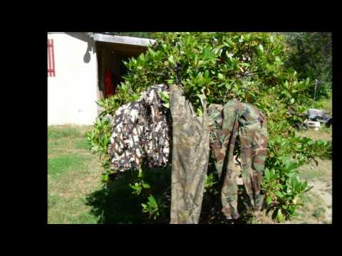 ASAT Camo Comparison Under UV Light See What Deer See