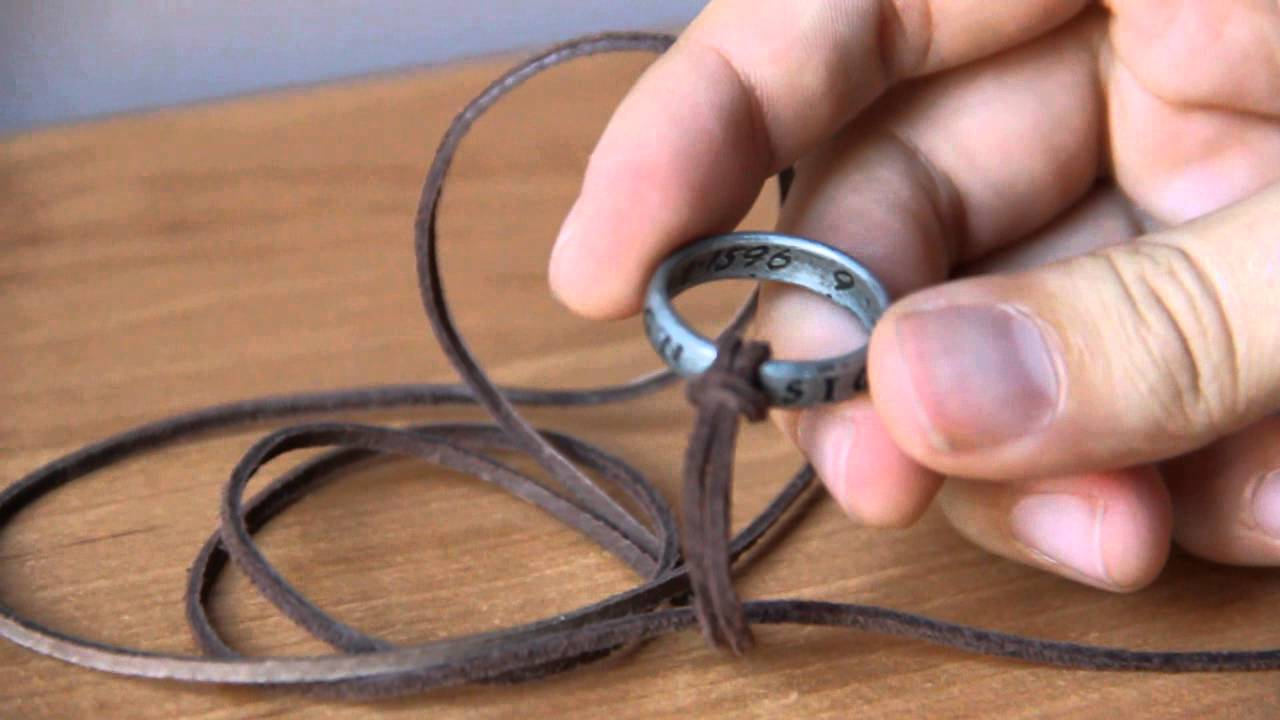 Francis Drake S Nathan Drake S Ring From Uncharted Youtube