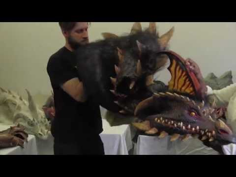 Nightmare Collection Dragon Costume Instructional