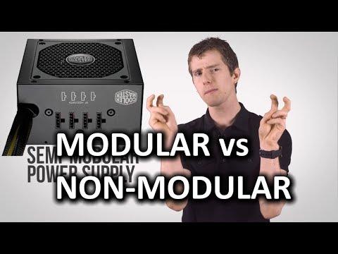Modular vs Non Modular Power Supplies as Fast As Possible
