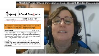 :: Afasaf ConNecta:: Formació professional per a nois i noies amb dificultats d'aprenentatge