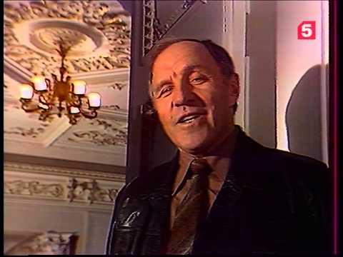 """""""Евгений Онегин"""", 1 глава. Читает М. Ульянов. ЛенТВ, 1981 г."""