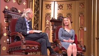Angel Seer, Lorna Byrne at the Marble Collegiate Church in NYC