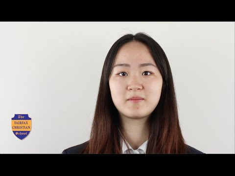 Fairfax Christian School: Meet Siyan Chen (Chinese)