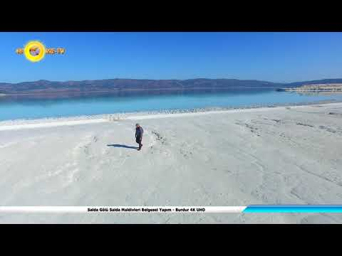 Salda Gölü Salda Maldivleri Belgesel Yapım - Burdur 4K UHD