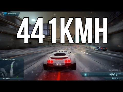Bugatti Veyron Top Speed Need For Most Wanted 2012 Nfs001