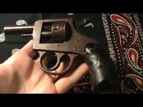 Fun Guns #8: H & R Model 970 Harrington & Richardson Starter Pistol 22