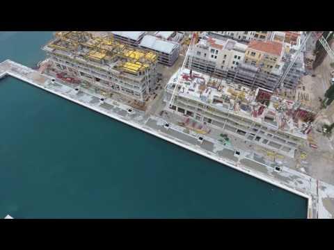 Portonovi by Azmont Investments - Construction Site, Marina - Drone View