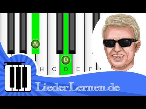 André Rieu & Heino - Rosamunde - Klavier lernen - Musiknoten - Akkorde
