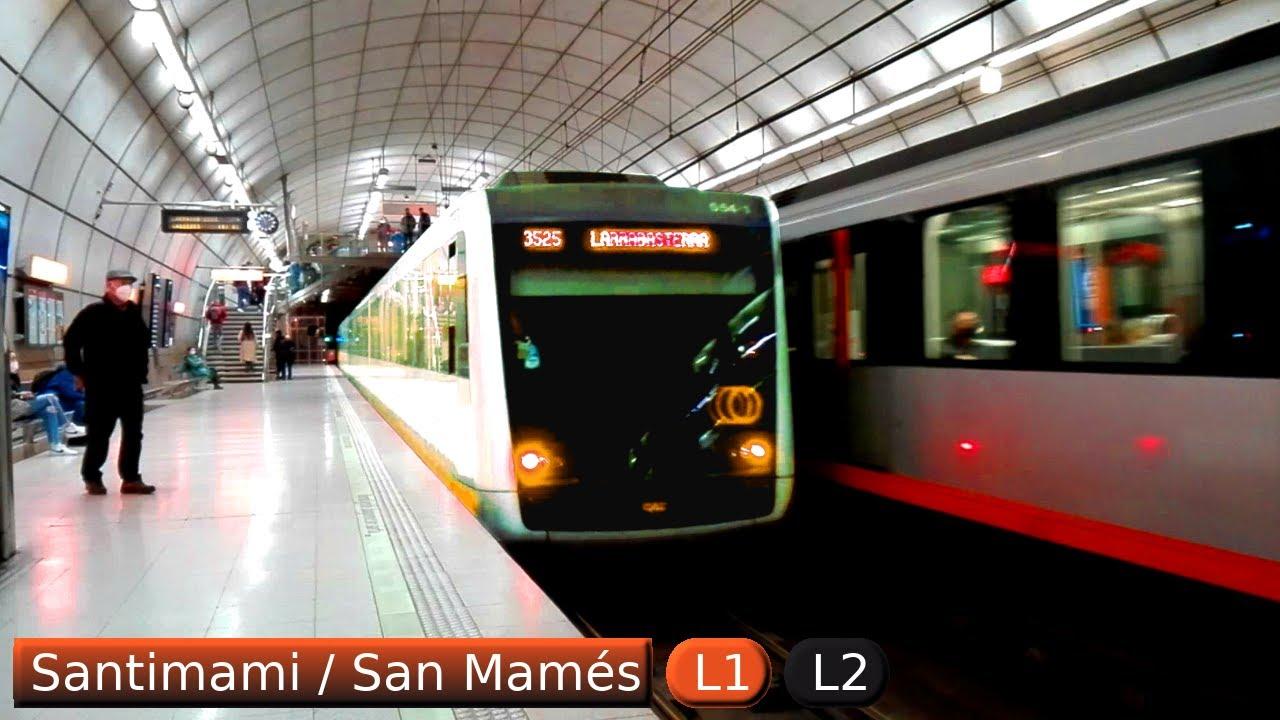 Santimami / San Mamés L1 - L2 : Metro de Bilbao ( UT 500 - 550 )