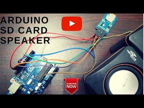 Audio Player using ARDUINO [sd card interface]